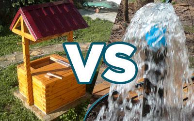 Что лучше: колодец или скважина на даче?