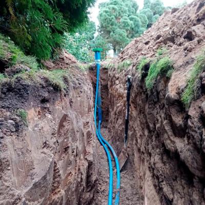 Бурение скважины на воду в д. Камкино