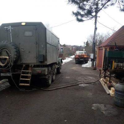Бурение малогабаритной установкой в Солнечногорске
