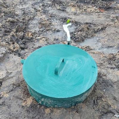 Обустройство скважины на воду с самоизливом в Талдоме