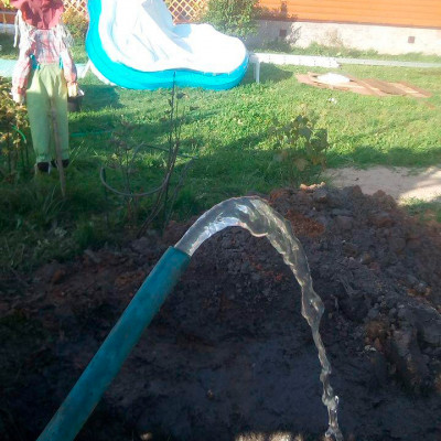Бурение скважины на воду в СНТ «Поляна»