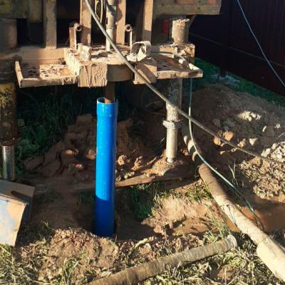Скважина на воду под ключ в Чехове