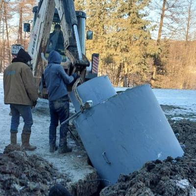 Обустройство скважины в д. Спасское