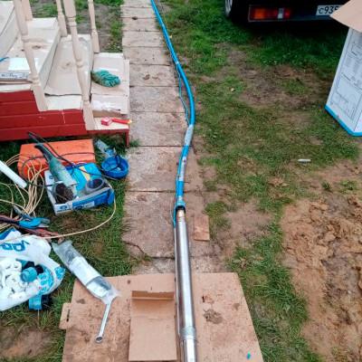 Скважина на воду под ключ в поселении Вороновском