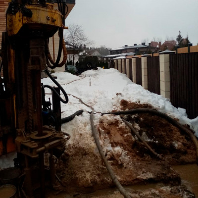 Бурение скважины на воду в поселке Успенский Лес