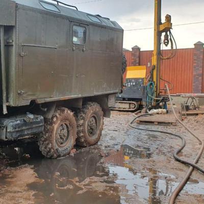 Бурение малогабаритной установкой в Щелково