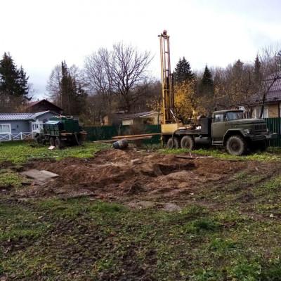 Бурение артезианской скважины в Одинцово