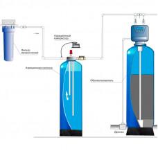 Комплект водоочистки № 2: Аэрация+ Обезжелезивание