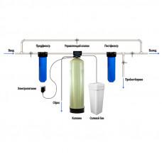 Комплект водоочистки №3: Обезжилезивание + Умягчение